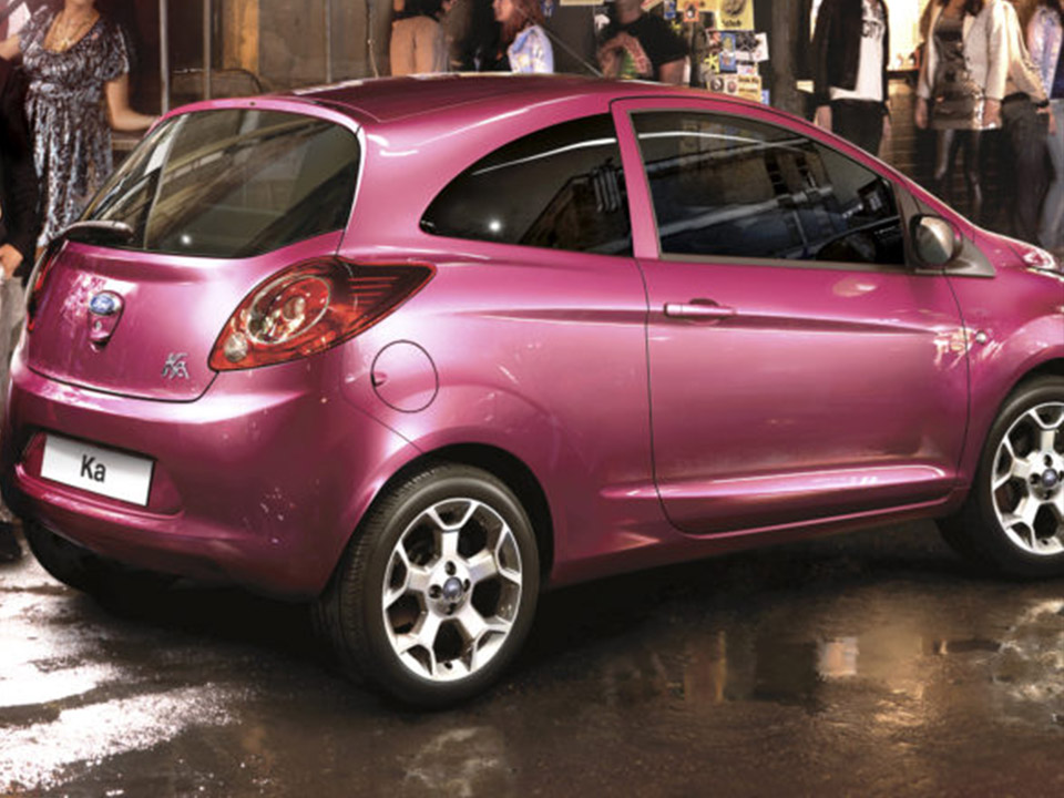Ford Ka rose fushia